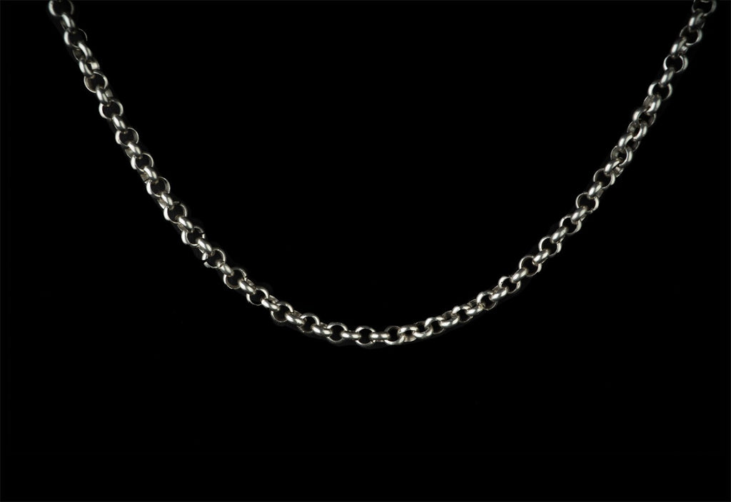 POLISHED SILVER CARTEL CHAIN - Rock and Jewel