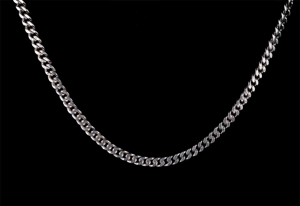 POLISHED SILVER LINK CHAIN - Rock and Jewel