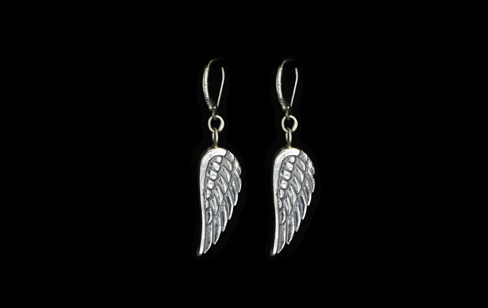 ROCK STAR  ANGEL WINGS EARRINGS