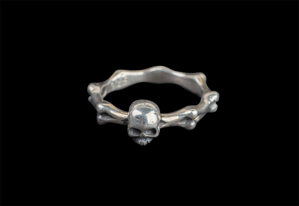 SKULL JOE BONE RING - Rock and Jewel