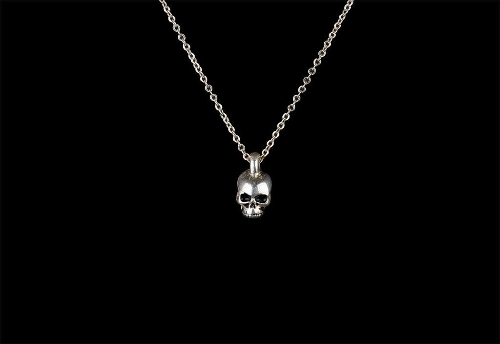 SKULL JOE CHARM NECKLACE - Rock and Jewel