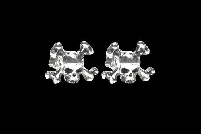 SKULL JOE CROSSBONE EARRINGS