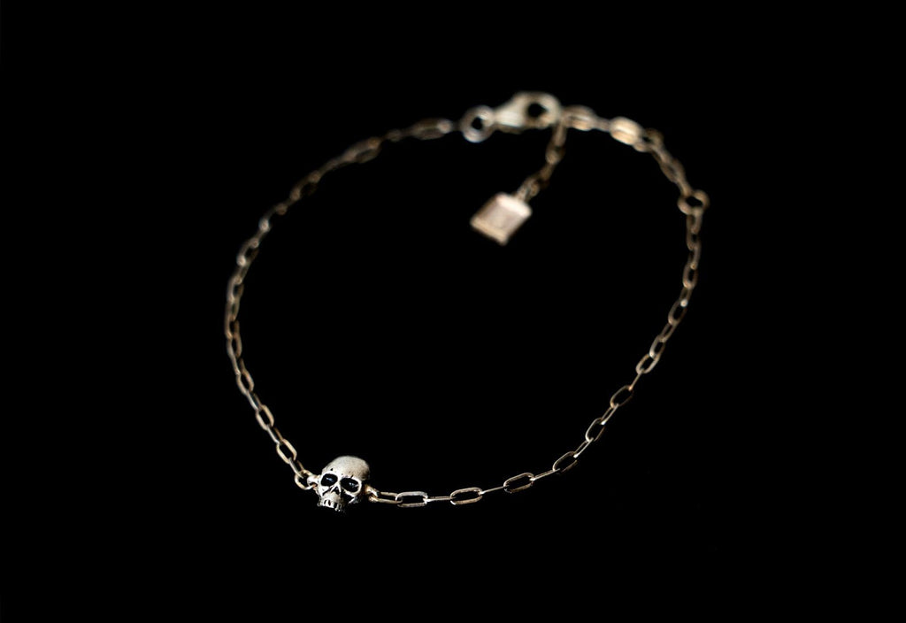 SKULL JOE MINI BRACELET - Rock and Jewel