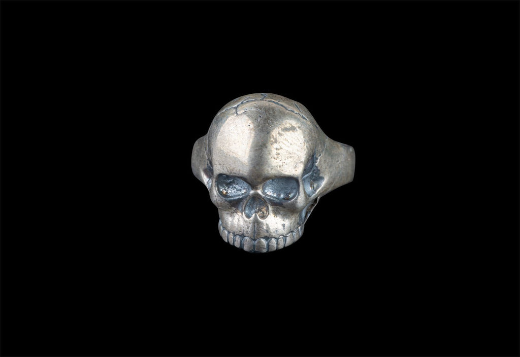 SKULL JOE SMALL RING - Rock and Jewel