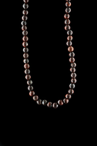 SMALL BALL JASPER NECKLACE