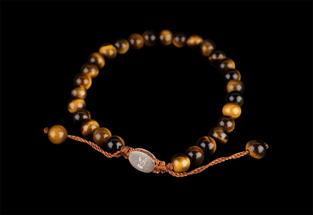 SMALL BALL TIGER EYE BRACELET - Rock and Jewel