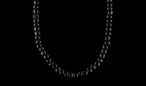 SMALL BLACK AGATHA NECKLACE
