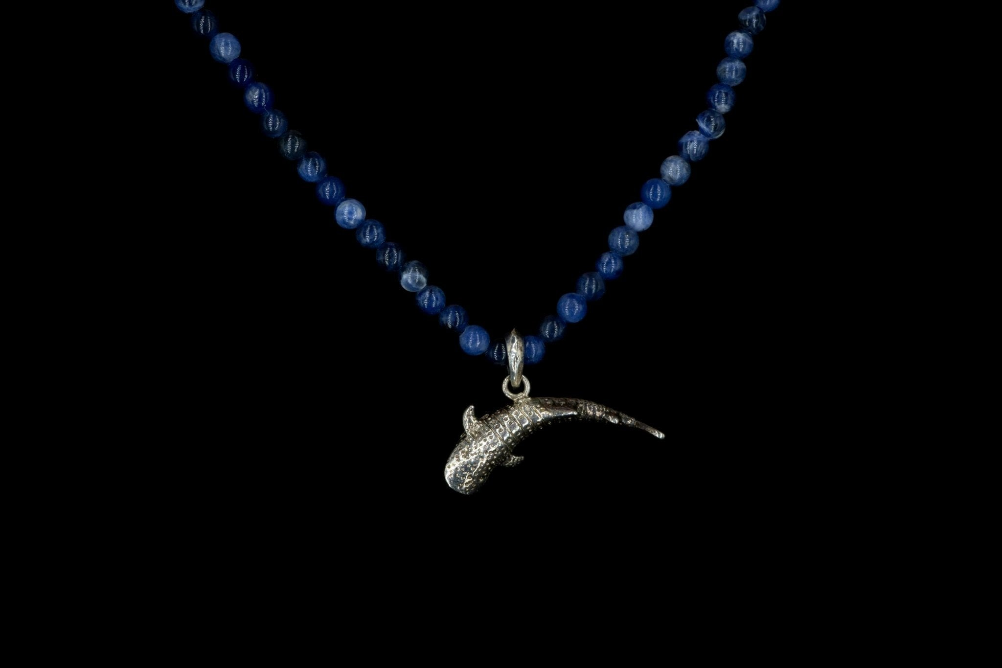 SODALITE WHALE SHARK NECKLACE