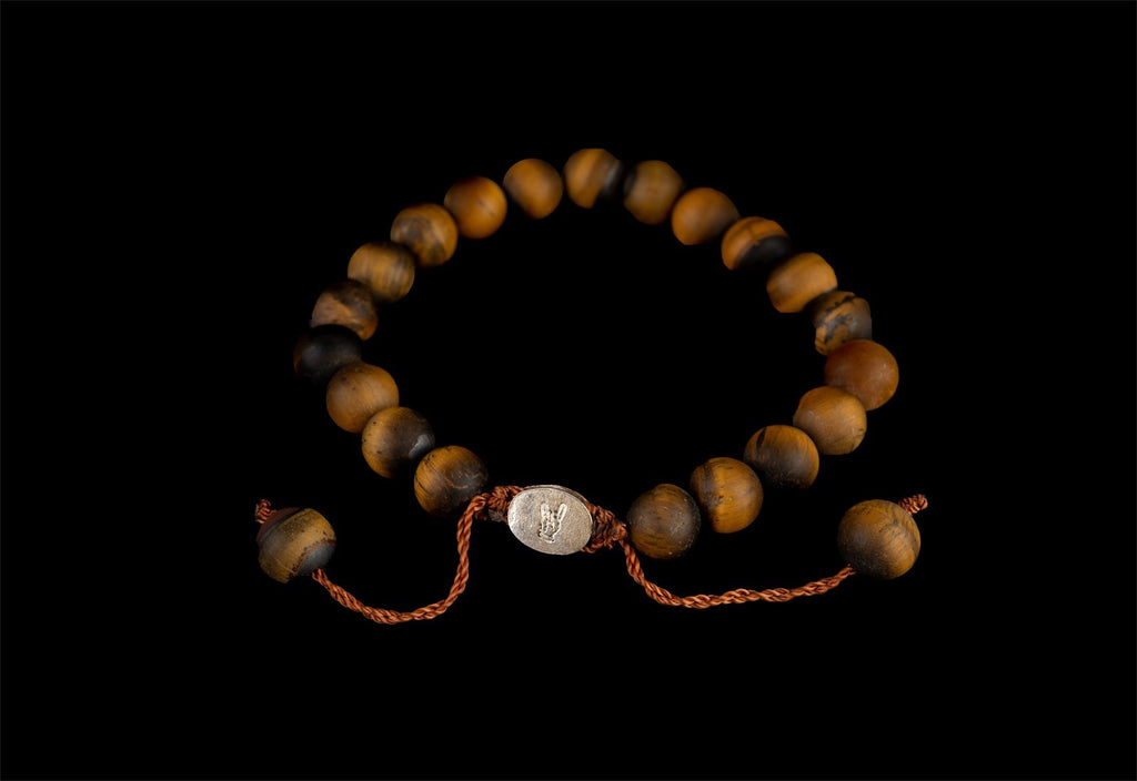 TIGER EYE MATTE BRACELET - Rock and Jewel