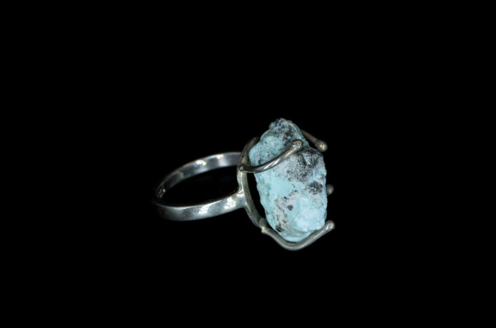 TURQUESA VIRGIN ROCK RING - Rock and Jewel