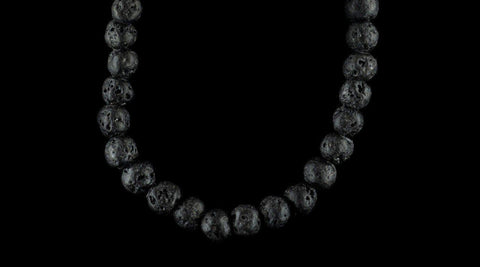 VOLCANIC BLACK NECKLACE