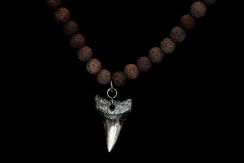 VOLCANIC VINO G.W SHARK TOOTH SILVER