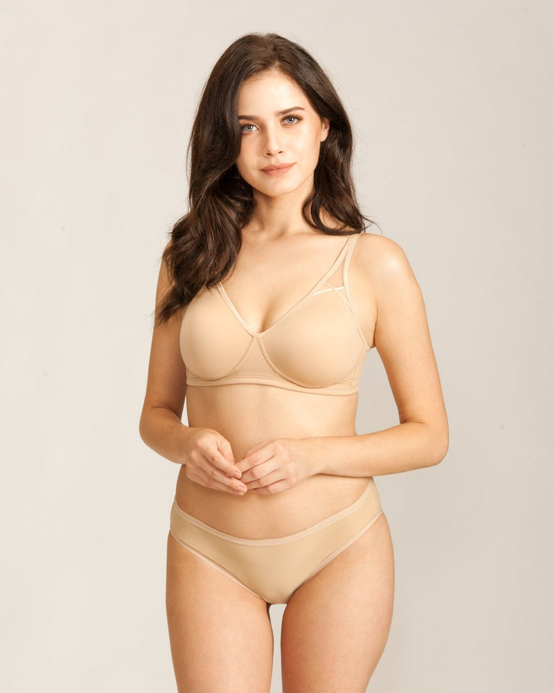 BREAST-THING-EVER comfort bra  PINK