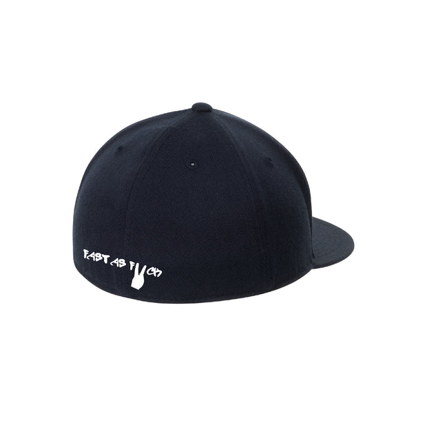 Two Wheel Appeal Flat Bill Flexifit Hat