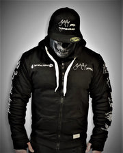 ARMORED LEVEL II 2WA BLACK OFFICIAL Hoodie With DuPont™ Kevlar® & Body Armor