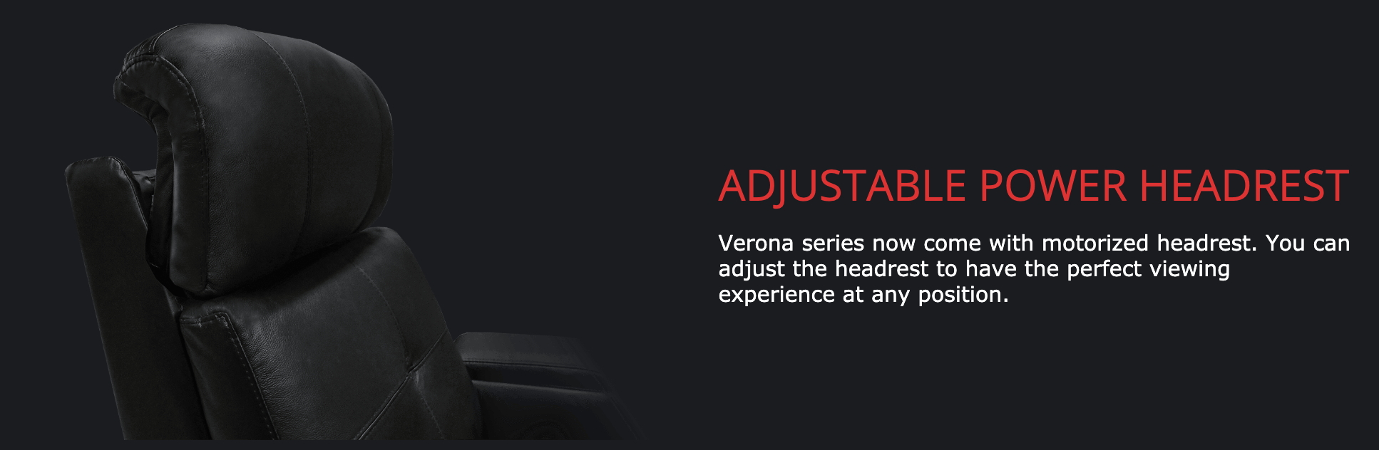 Verona Power Headrest