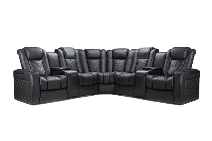 Tuscany Multimedia Sectional
