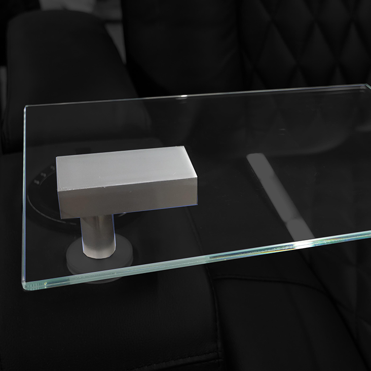 Glass Tray Table