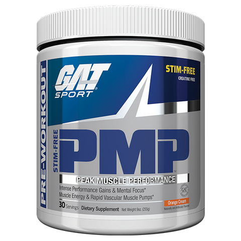 Out of stock PMP - Stim FREE, creatine FREE - GAT
