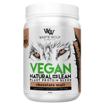White wolf - VEGAN PROTEIN - Chocolate malt