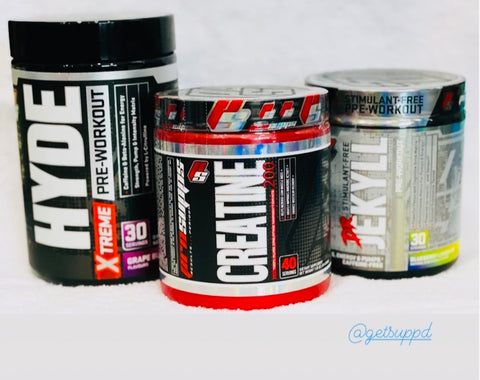 PROSUPPS HydE and Jekyll preworkout CoMbo