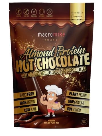 Macro mike, protein hot chocolate