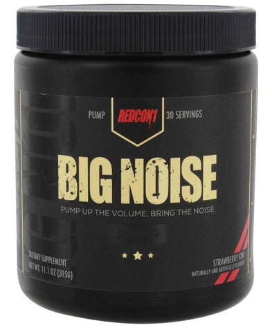 BIG NOISE - PUMP PRE WORKOUT - REDCON 1