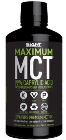 Maximum MCT oil (80 serves) by Giant sport