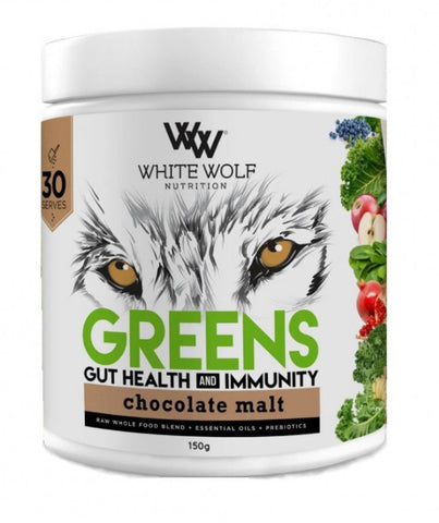 White wolf GREENS - gut health and immunity