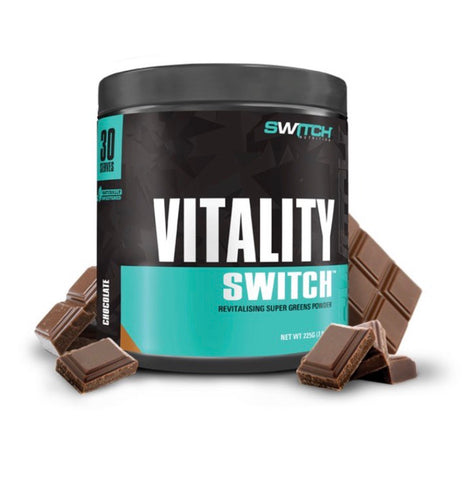 Vitality switch - SWITCH NUTRITION- gut health - greens - GUT - VITALITY