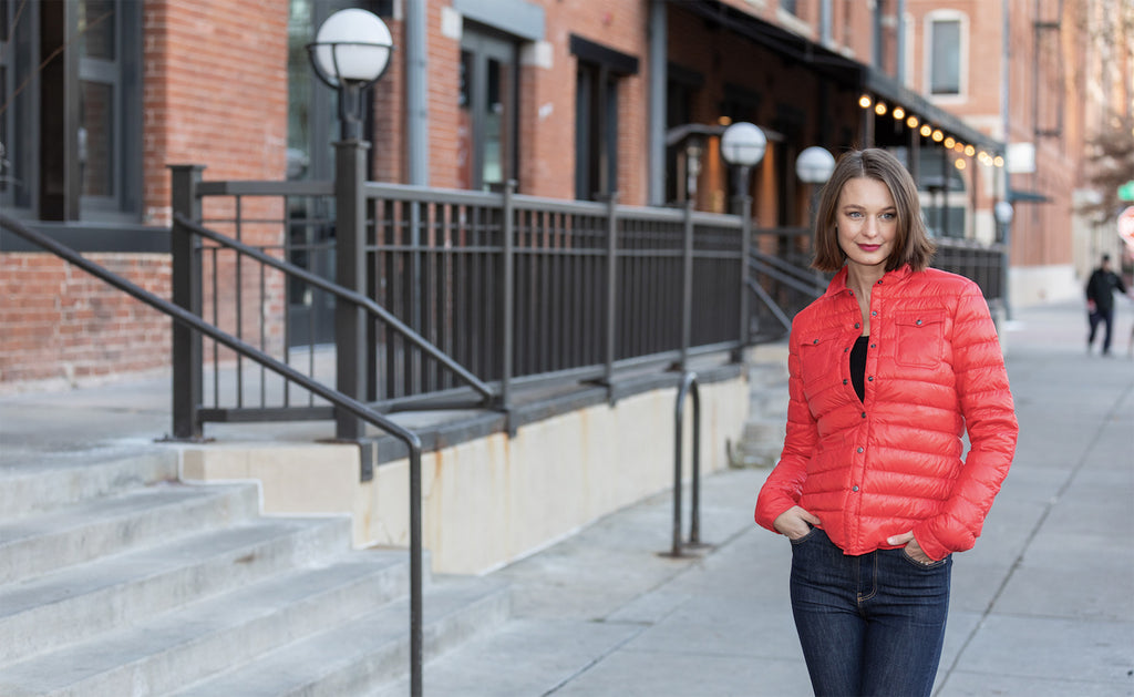 Red women jacket - Harrow