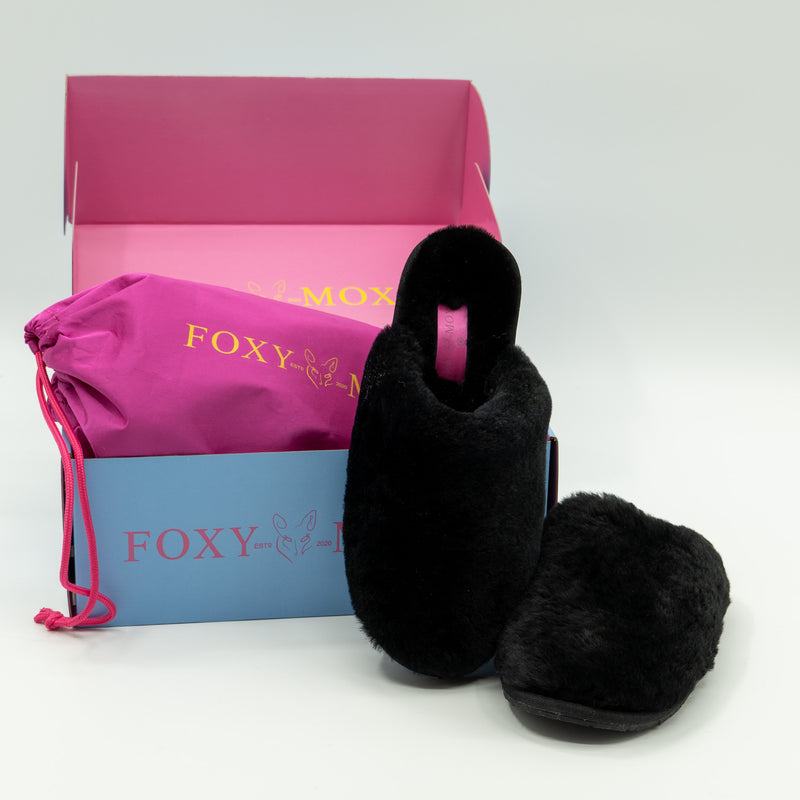 The Coco - Wool Slipper by Foxy Moxys