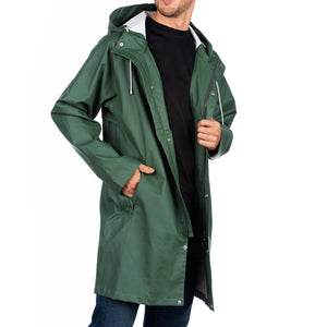 The Manchester Raincoat Cotes of London British Racing Green 2XS
