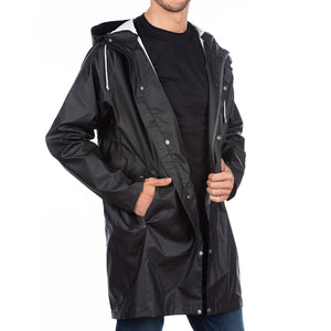 The Manchester Raincoat Cotes of London Midnight Black 2XS