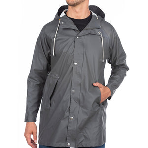 The Manchester Raincoat Cotes of London Nickel Grey 2XS