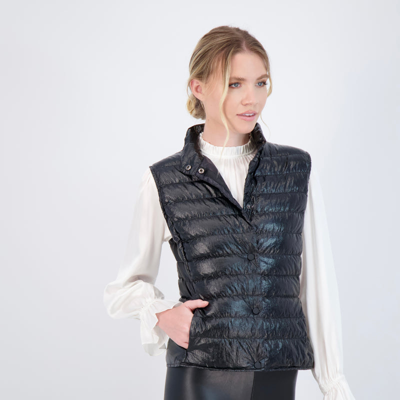 The York Metallic - Down vest