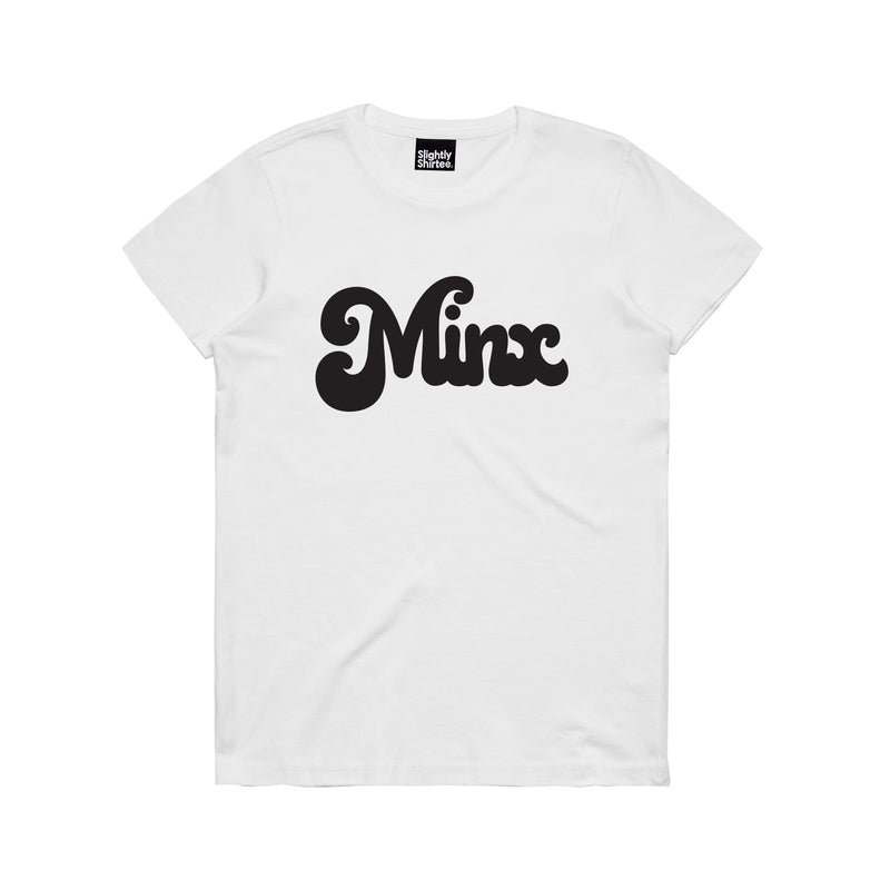 Slightly Shirtee Minx Slogan Tee
