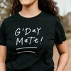 G'day Mate tee (Ladies) - Black