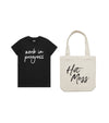 LUCKY DIP - Ladies Tee + Tote