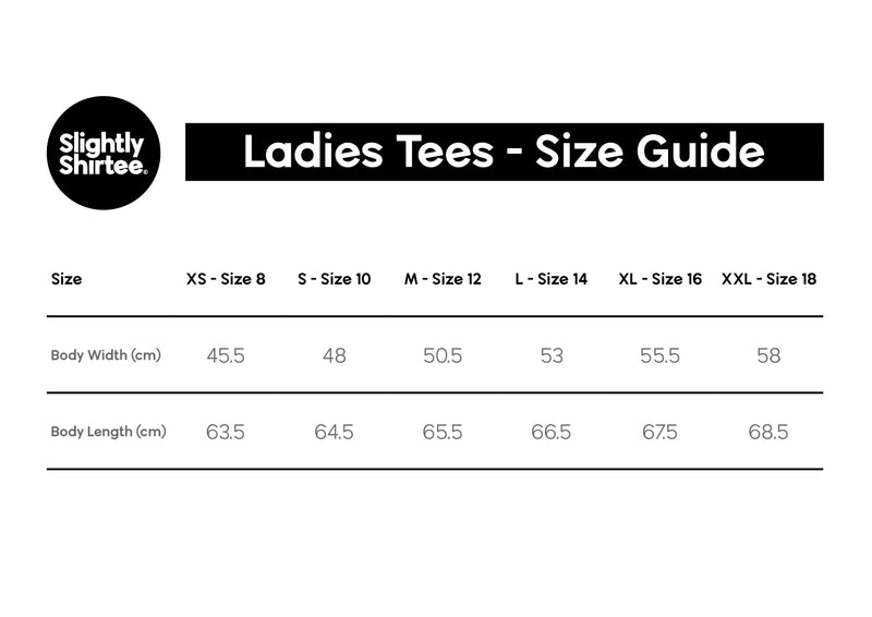 Good On Ya tee (Ladies) - White
