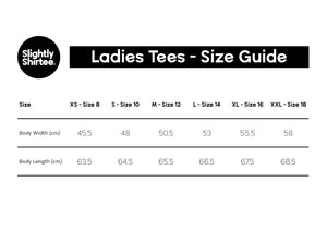 Good On Ya tee (Ladies) - Rose