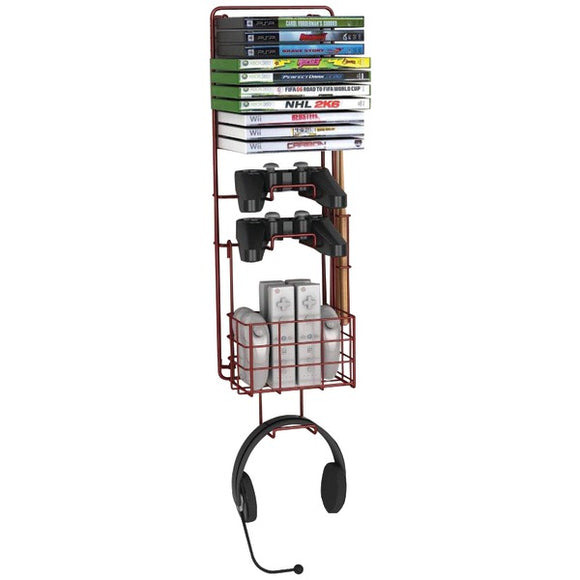 Check it out Pro Audio & Home Entertainment Atlantic 38806137 Wall-Mount Game Rack Default Title Atlantic at popular-product-trends.myshopify.com