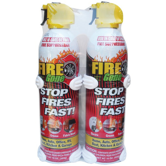 Check it out Surveillance Safety & Security Fire Gone 2-FG-7209 Fire Suppressants with Bracket, 2 pk Default Title Fire Gone at popular-product-trends.myshopify.com