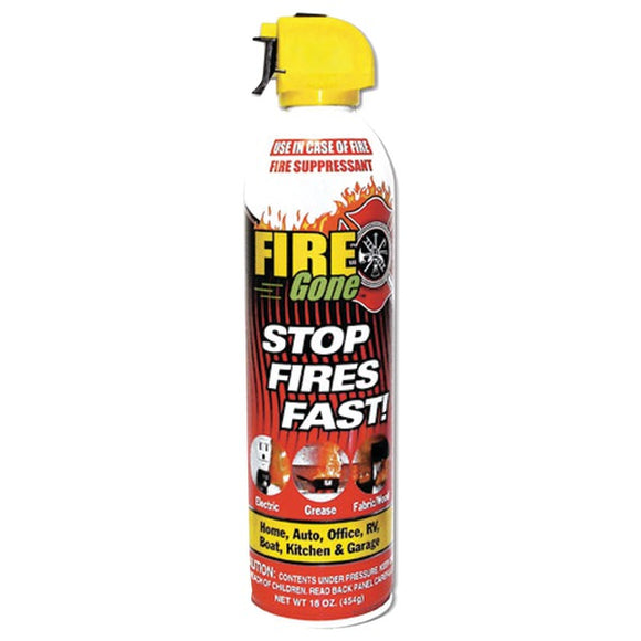 Check it out Surveillance Safety & Security Fire Gone FG-007-102 Fire Suppressant Default Title Fire Gone at popular-product-trends.myshopify.com