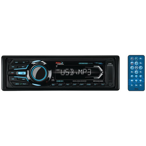 Check it out Automotive Marine & GPS BOSS Audio Systems MR1308UABK Marine Single-DIN In-Dash Mechless AM-FM Receiver with Bluetooth (Black) Default Title Boss Audio Systems at popular-product-trends.myshopify.com