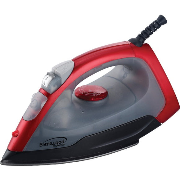 Check it out Housewares & Personal Care Brentwood Appliances MPI-54 Nonstick Steam Iron (Red) Default Title Brentwood Appliances at popular-product-trends.myshopify.com