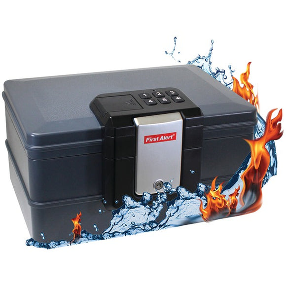 Check it out Surveillance Safety & Security First Alert 2602DF Waterproof Fire Chest with Digital Lock (.39 Cubic Ft) Default Title First Alert at popular-product-trends.myshopify.com