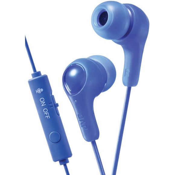 Check it out Pro Audio & Home Entertainment JVC HAFX7GA Gumy Gamer Earbuds with Microphone (Blue) Default Title Jvc at popular-product-trends.myshopify.com