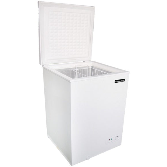 Check it out Housewares & Personal Care Magic Chef MCCF35W2 3.5 Cubic-ft Chest Freezer Default Title Magic Chef at popular-product-trends.myshopify.com