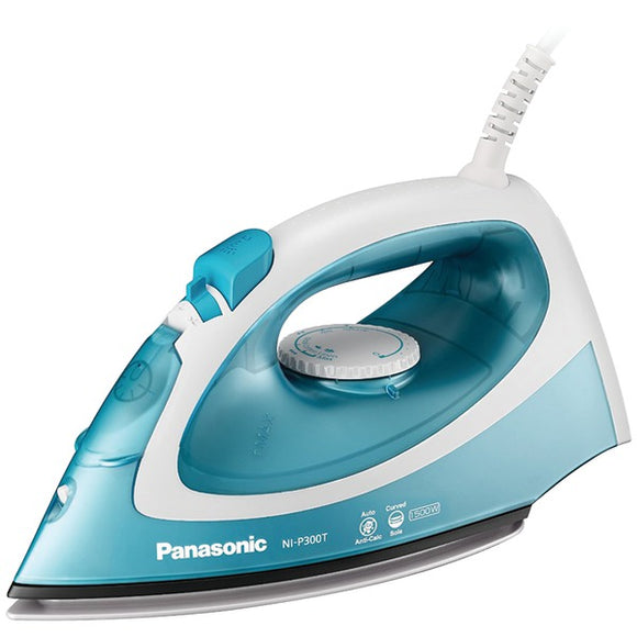 Panasonic(R) NI-P300T 1,500-Watt Steam-Circulating Iron